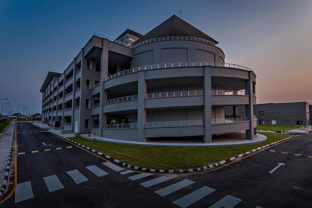 Completed Car Park - External (@megastarng twitter handle)